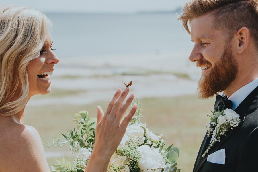 bröllopsfotograf,österlen,vitemölla,fjäril,skåne